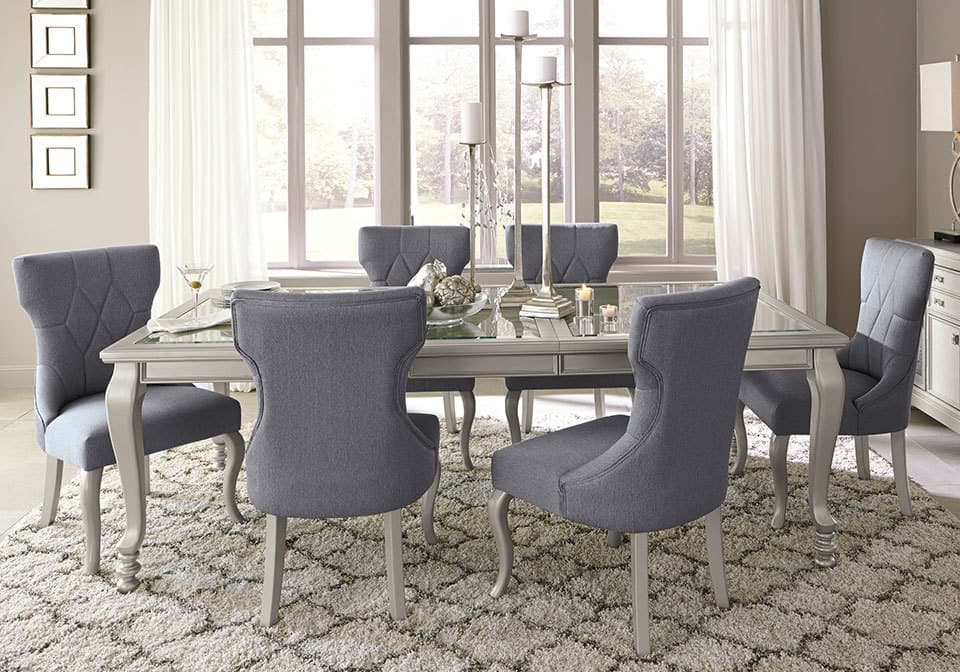 Quick View Cayne Dining Set With 6 Side Chairs