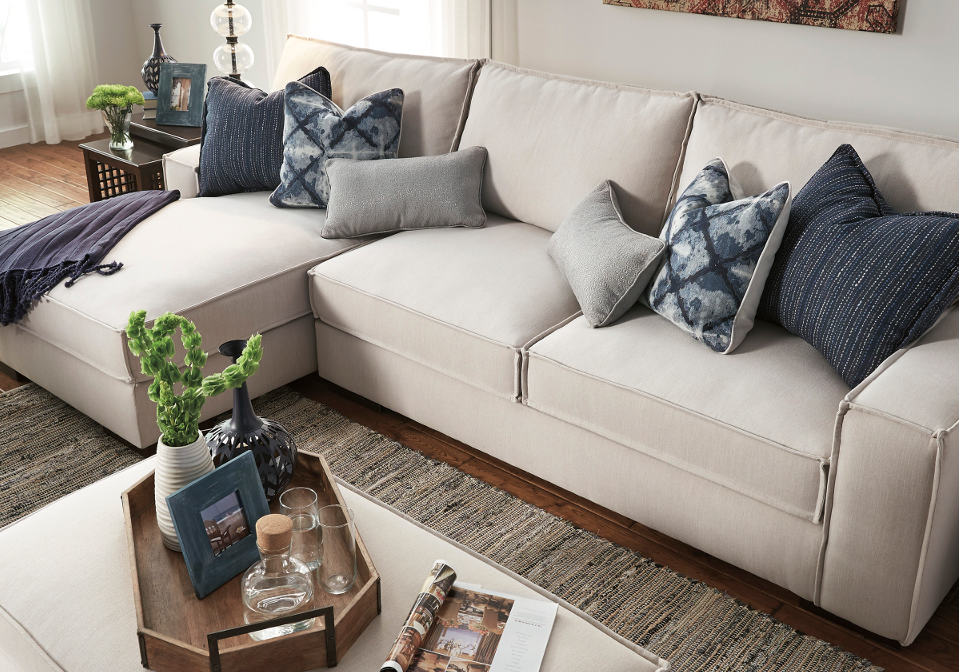 AF 5470416 67 Kendleton Stone LAF Chaise 2pc Sectional3 700x500 : laf chaise sectional - Sectionals, Sofas & Couches