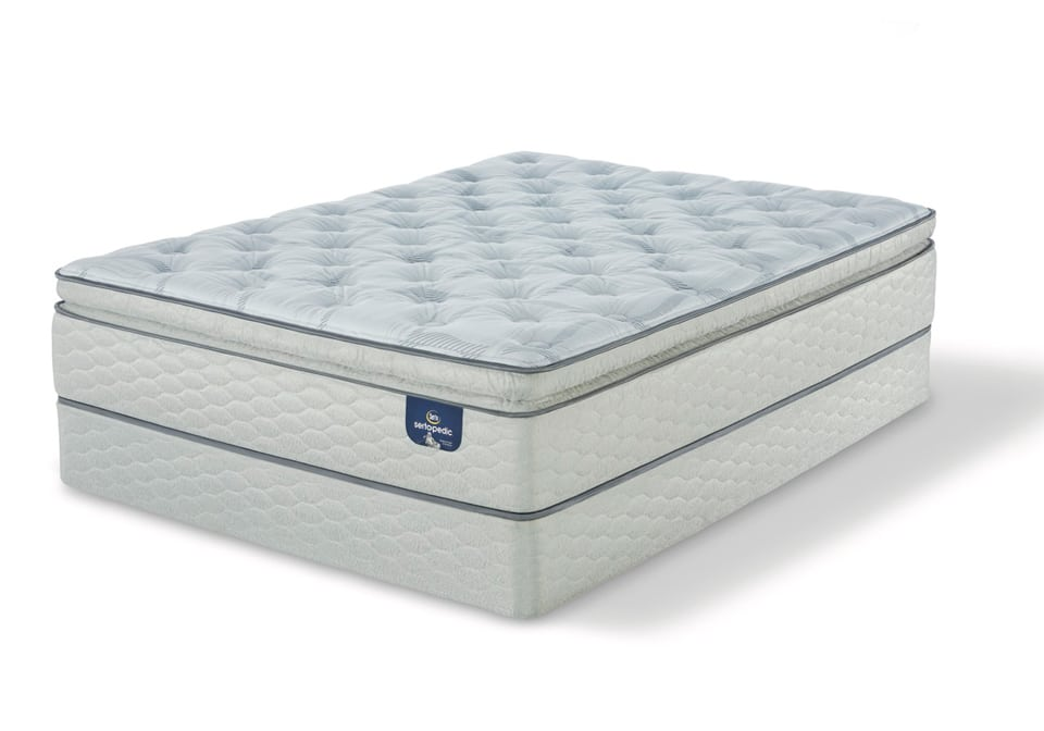 Serta Carterson Spt Firm Twin Xl Mattress Only Evansville Overstock Warehouse