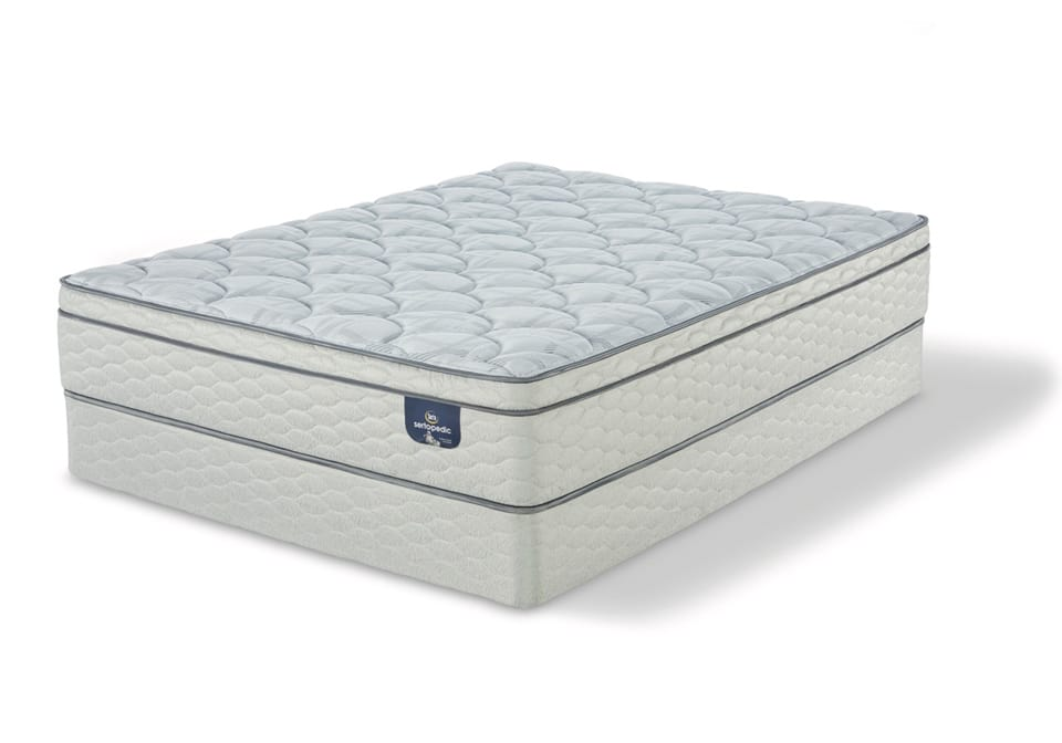 Serta Sanborn Et Twin Mattress Set Evansville