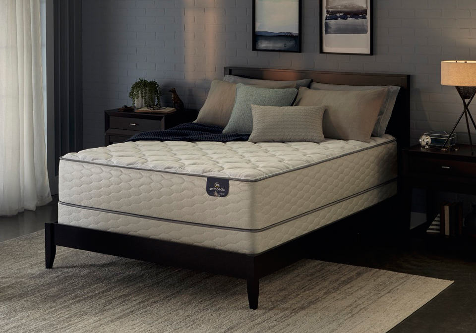 Serta Sanborn Et Twin Mattress Only Evansville Overstock Warehouse