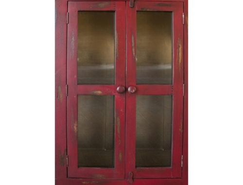 Antique-Red-Cabinet-Door