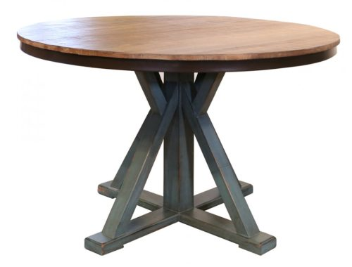 Antique-Teal-Round-Table