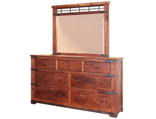 Parota-Dresser-Mirror