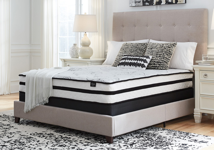 Ashley Sleep 174 Chime Elite 10 Inch Plush California King Hybrid Mattress Set Evansville