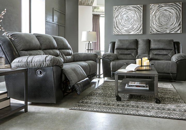Prime Earhart Slate Reclining Sofa Set Ncnpc Chair Design For Home Ncnpcorg