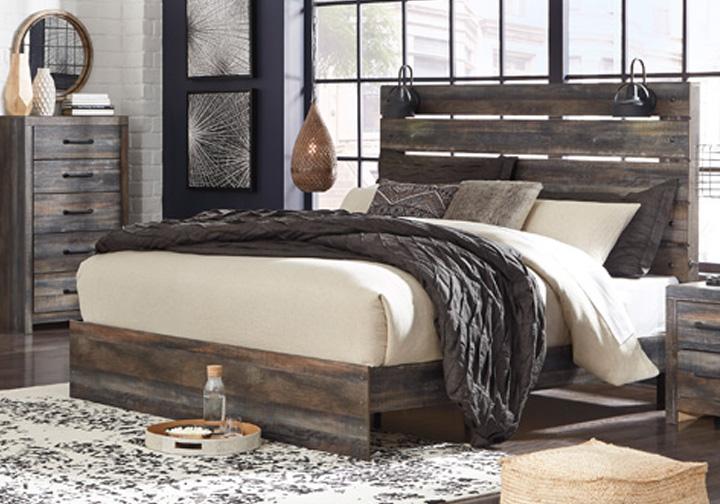 Drystan Multi King Panel Bed Evansville Overstock Warehouse