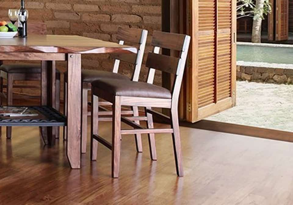 Magnificent Parota Counter Height Dining Chair Pdpeps Interior Chair Design Pdpepsorg