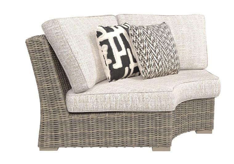 Beachcroft Beige 3Pc Patio Set   Evansville Overstock ... on Beachcroft Beige Outdoor Living Room Set id=45644