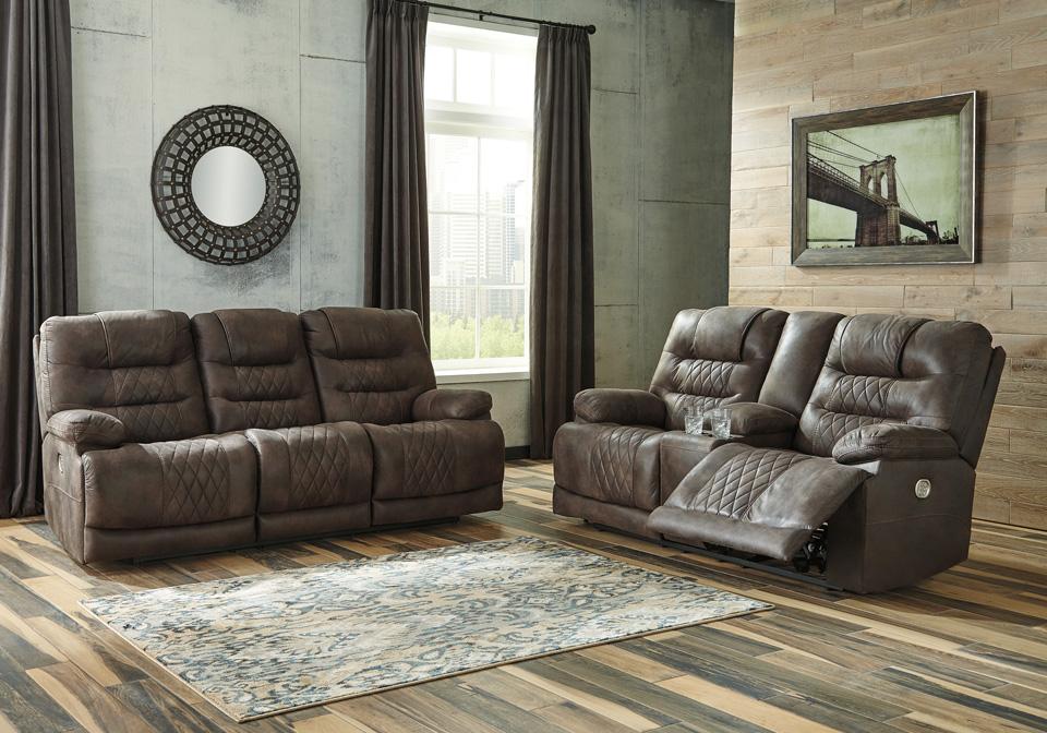 Welsford Walnut Reclining Sofa